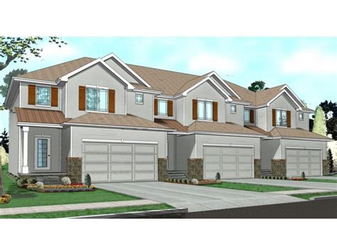 Townhome Designs | townhouse floor plans 1 story townhouse with garage plans