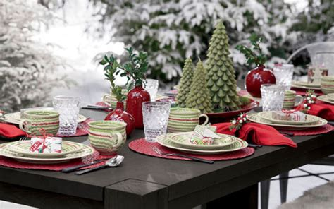 beautiful christmas table decor pictures photos and