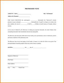 3 promissory note template free download itinerary
