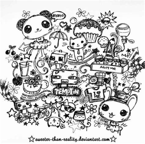 doodle weheartit bunny deviantart doodles panda inspiring