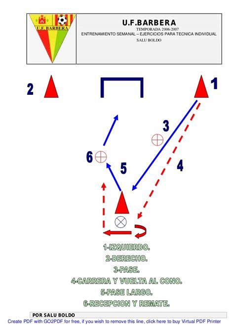 ejercicios futbol sala para ni os entrenamiento 58 ejercicios de futbol