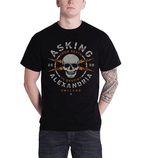 Asking Alexandria New Band asking alexandria t shirt band logo the black to
