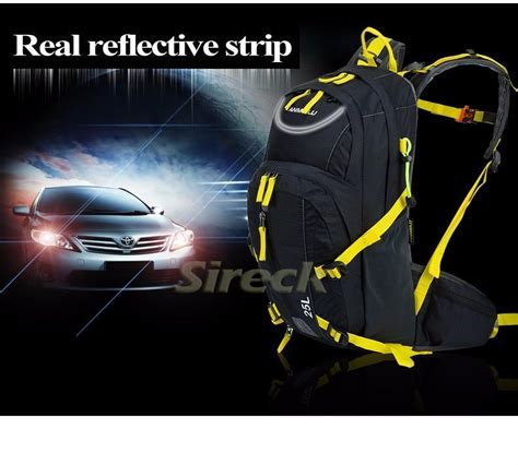 Cover Bagrain Cover Eiger 25l anmeilu 25l climbing bag rucksack waterproof outdoor cycling cing sports backpack mens travel