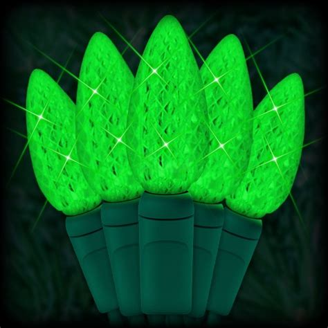 led green christmas lights 35 c6 led strawberry style