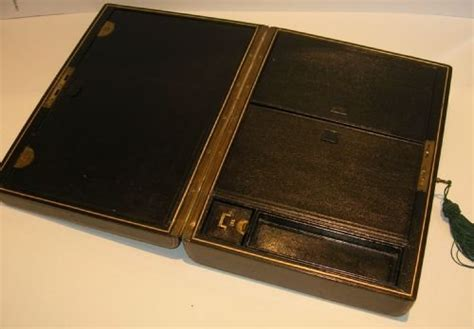 the complete privacy and security desk reference quality antique leather covered writing box