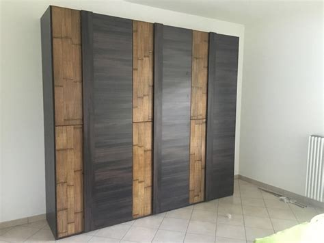 armadio offerta armadio 6 ante legno wenghe crash bambu offerta outlet