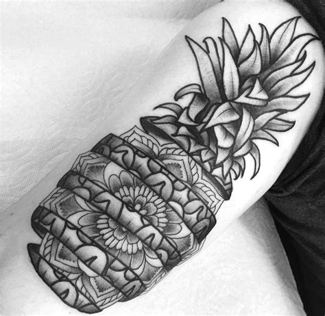 pineapple tattoo meaning 17 best best pineapple tattoos 2017 images on