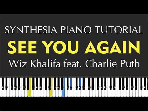 tutorial piano when i see you again 13 best images about piano music on pinterest harry