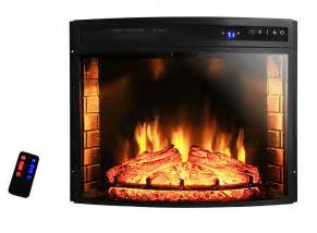Electric Fireplace Logs 1400w Insert Free Standing 28 Quot Electric Fireplace Firebox Heater Logs Glow Ebay