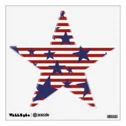 Wall Stickers Stripes stars and stripes wall decals amp wall stickers zazzle