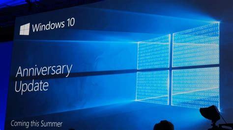 Windows 10 Anniversary Update windows 10 anniversary update disponibile al