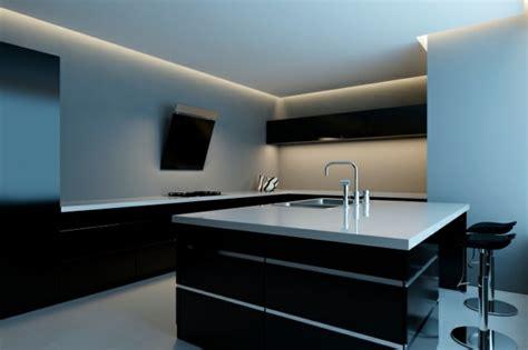 cocinas negras modernas cocinas modernas con isla 100 ideas impresionantes