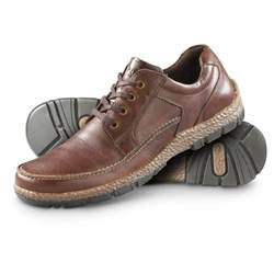 s casual shoes guide gear s leather casual oxford moc toe shoes 624260 casual shoes at sportsman s guide