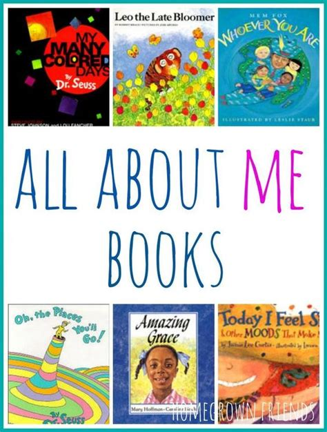 picture books preschool all about me all about me book and about me on