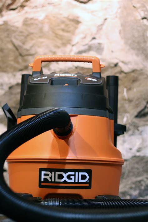 ridgid shop vac motor ridgid wd1450 14 gallon vacuum product review