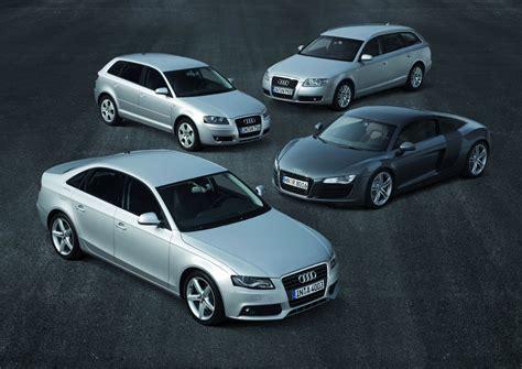 Audi A Modelle by Best Cars Vier Audi Modelle An Der Spitze Audi News