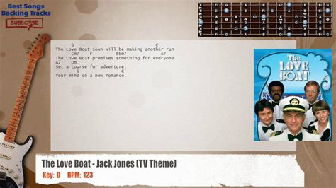 love boat theme guitar chords the love boat jack jones tv theme guitar backing track