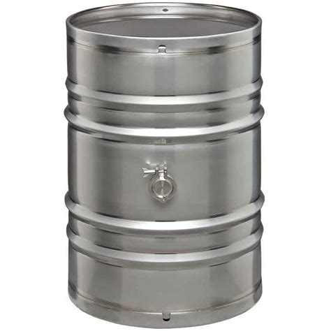 Jojo Canister 55 gallon stainless steel wine barrels the cary company