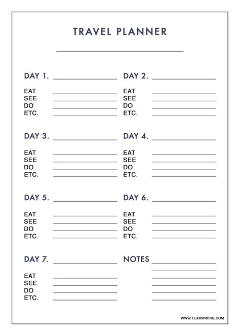 vacation checklist template 12 free pdf documents downlaod