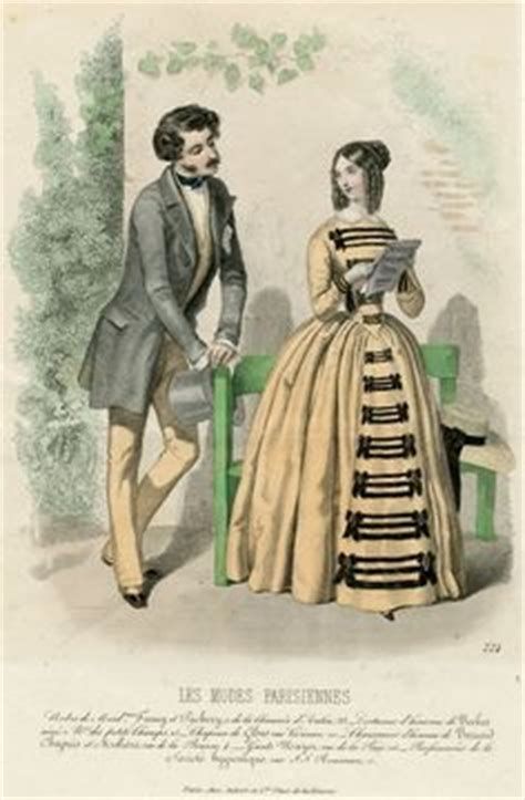 romantic 1815 1840 man s hairstyles men s fashion dressing the 1840s