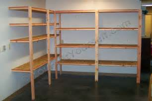 Garage Shelving 2 X 4 2 215 4 And Plywood Shelving Plans 187 Woodworktips