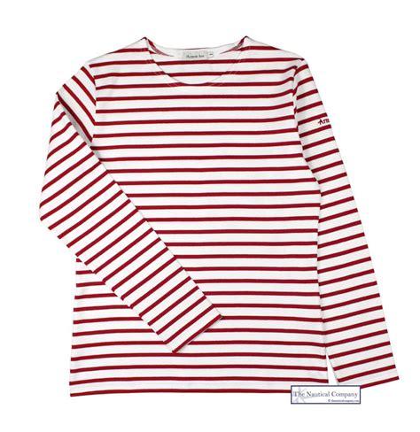 Stripe Tops s white striped top breton armor thick the