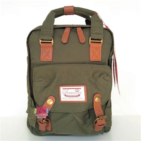 Tas Ransel Season 73616 Green tas ransel season model anello 12 green magenta room