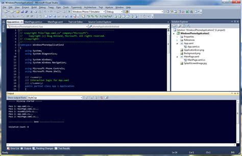 android templates for visual studio 2010 stylecop compliant visual studio 2010 code snippets
