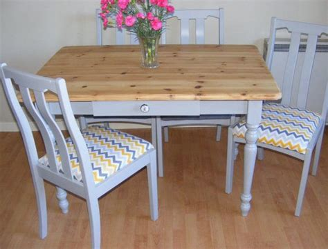 sold farmhouse table shabby chic table painted table