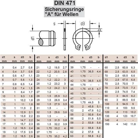 Edelstahl Sicherungsring F 252 R Wellen Din 471 V2a 24mm 100 St Uu