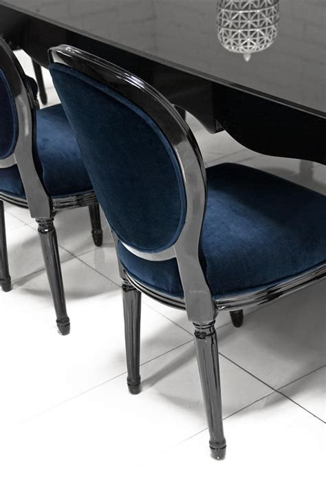 Bel Air Dining Table Www Roomservicestore Bel Air Dining Table In High Gloss Black