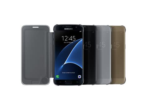 Samsung Galaxy S7 Edge Sticker Transparant galaxy s7 edge sview flip cover mobile accessories ef zg935csegus samsung us