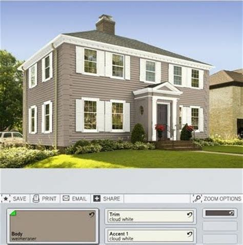 house with white shutters exterior dark taupe hides siding flaws and imperfections and white trim shutters
