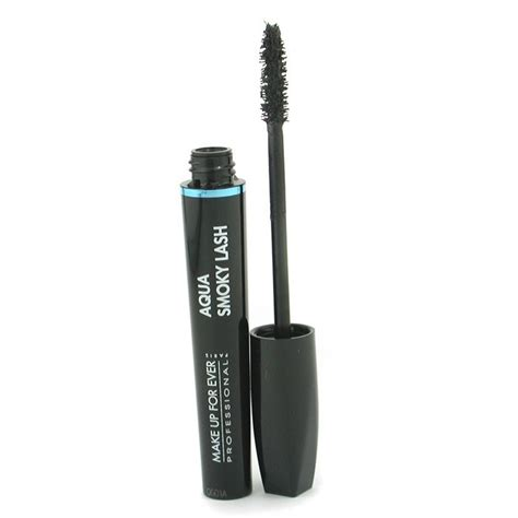 Maskara Aqua Lash Wardah makeup for aqua smoky lash waterproof black mascara black fresh