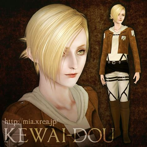 Attack On Titan Sims 3 Hair | the sims3 male hair female hair child hair attack on titan