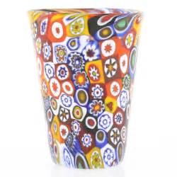 Murano Style Glass Chandelier Murano Glass Goblets Murano Millefiori Shot Glass