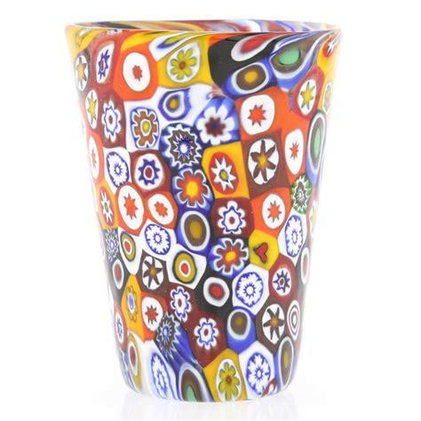 Glass Bowls And Vases Murano Glass Goblets Murano Millefiori Shot Glass