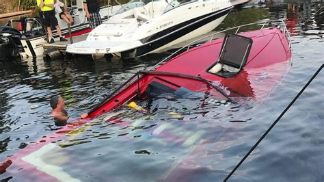 sinking boat boat 2 rescued from sinking boat on lake ontario wham