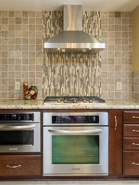 kitchen wall backsplash red kitchen tile with stainless glass backsplash for