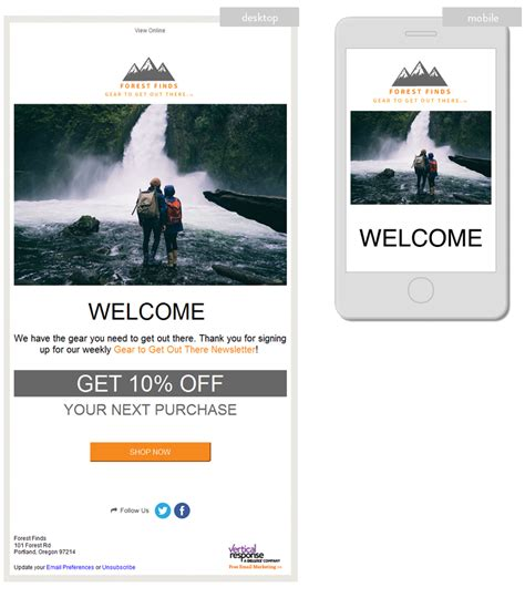 vertical response templates 28 images email marketing