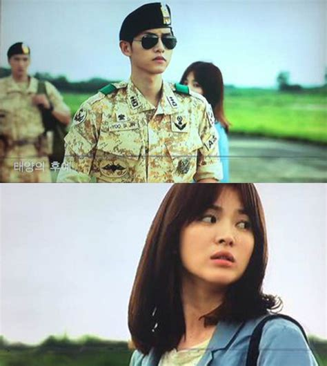 film korea descendants of the sun adegan romantis drama korea descendants of the sun sudah