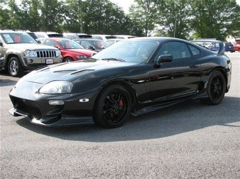 Used 1998 Toyota Supra Find Used 1998 Toyota Supra Turbo Loaded Low In