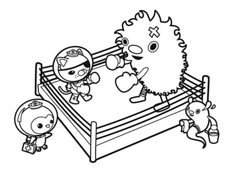 octonauts coloring pages bestofcoloring com