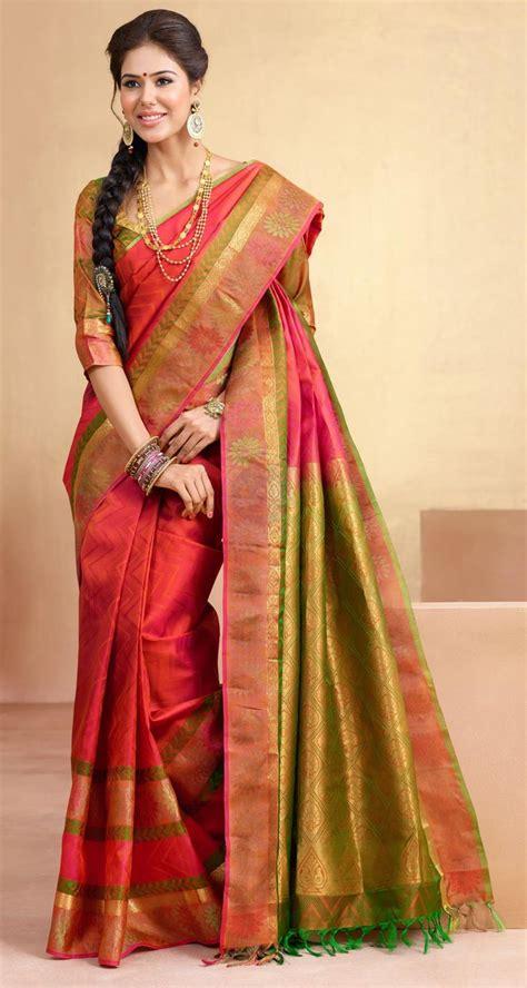hairstyle design for saree buy online bairavi traditional silk sarees btss 7246