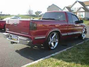 Used Custom Wheels Chevy Truck Sell Used 1999 Chevy S10 Up Truck Custom Rims