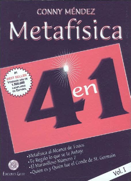 libro metafsica metafisica 4 en 1 volumen 1 by conny mendez paperback barnes noble 174