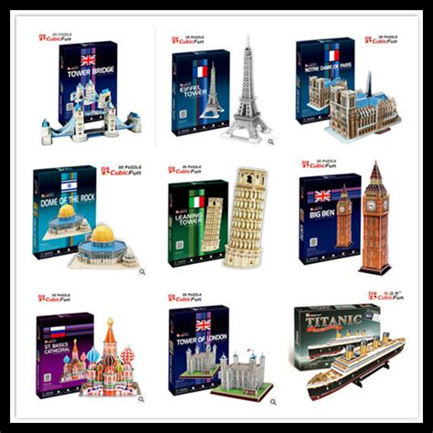 Best Seller Cubic Puzzle 3d The Dome Of The Rock Large Size cubic medium size 3d puzzle toys big ben leaning tower