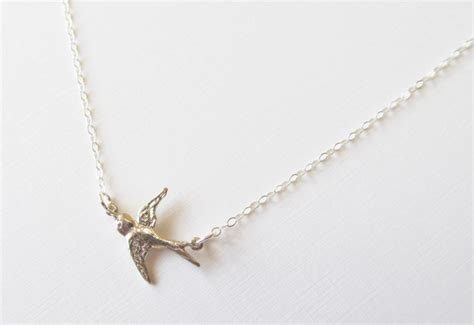 Bird Pendant Necklace bird pendant necklace silver images