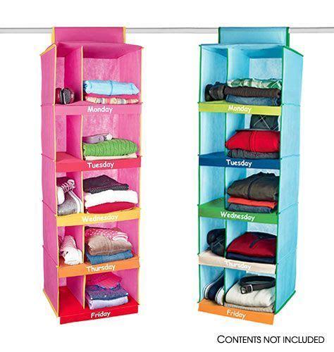 clothes organizer ideas best 25 weekly clothes organizer ideas on pinterest