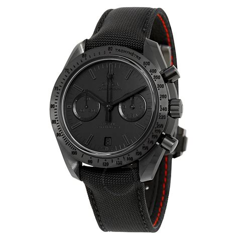 Omega Black omega speedmaster moonwatch side of the moon quot black